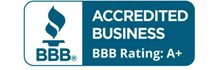 Better Business Bureau – A+ Accredited
